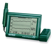 EXTECH Temperature/Humidity Recorder - paperless